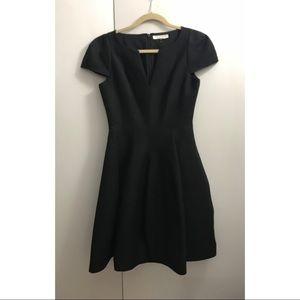 ad599a2f61dd Halston Heritage Dresses - Halston Heritage Maggie Tulip-Skirt Black Dress 2